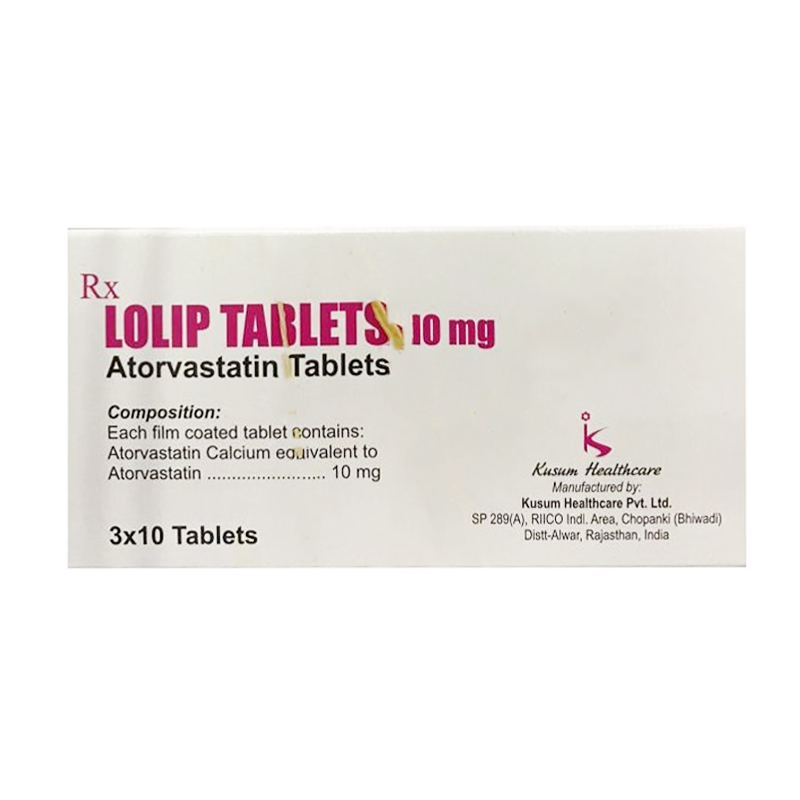 Lolip Tablets 10mg