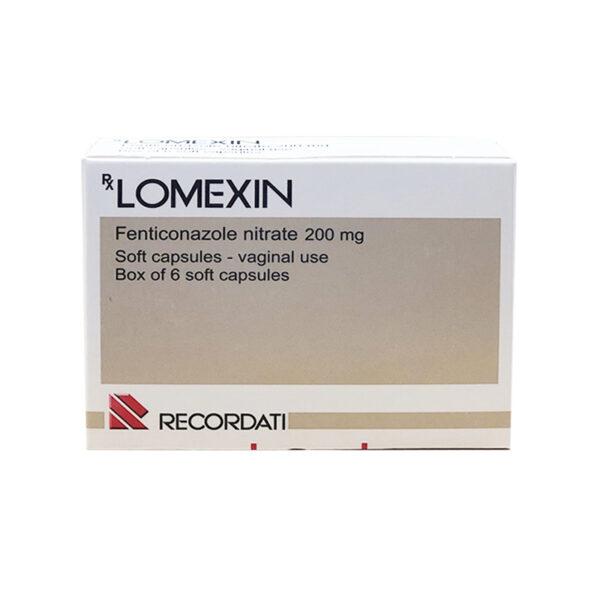 Thuốc Lomexin 200mg - Hộp 6 Viên - Trị Nấm Âm Đạo