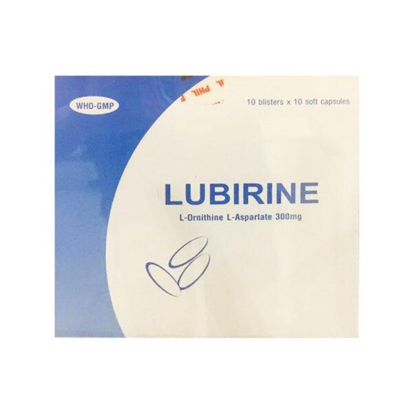 Thuốc Lubirine 300mg - Hộp 100 Viên - Điều Trị Rối Loạn Ý Thức