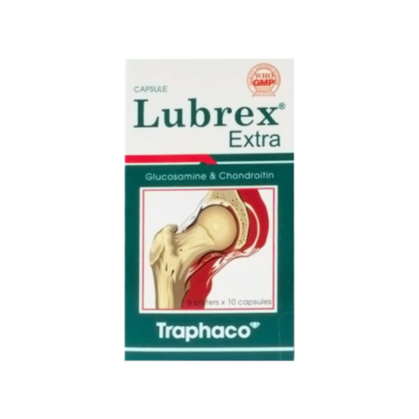 Thuốc Lubrex Extra - Hộp 60 Viên - Tái Tạo Sụn Khớp