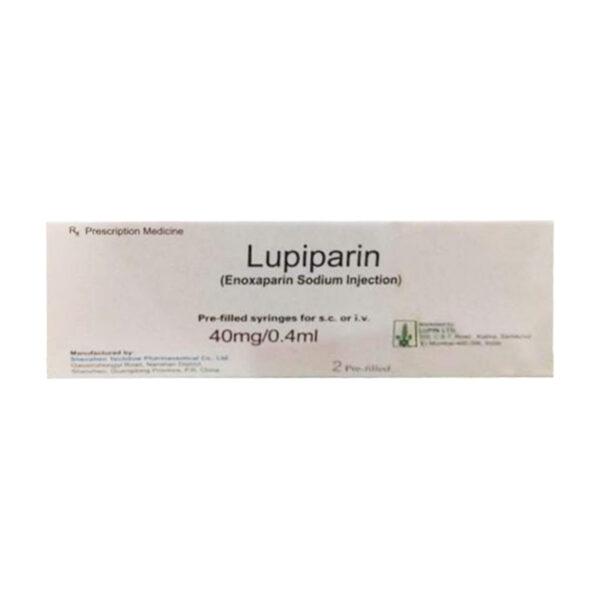 Thuốc Lupiparin - Hộp 2 Bơm Tiêm - Điều Trị Đau Thắt Ngực