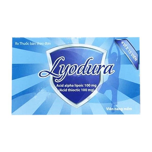 Thuốc Lyodura 100mg - Hộp 60 Viên - Sử Dụng Trong Đái Tháo Đường