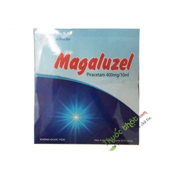 Thuốc Magaluzel 400Mg/10Ml - hưng trí làm cải thiện chuyển hoá của tế bào thần kinh