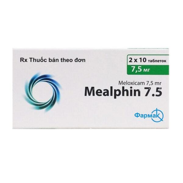 Mealphin 7,5mg Hộp 20 Viên - Điều Trị Đau Xương Khớp