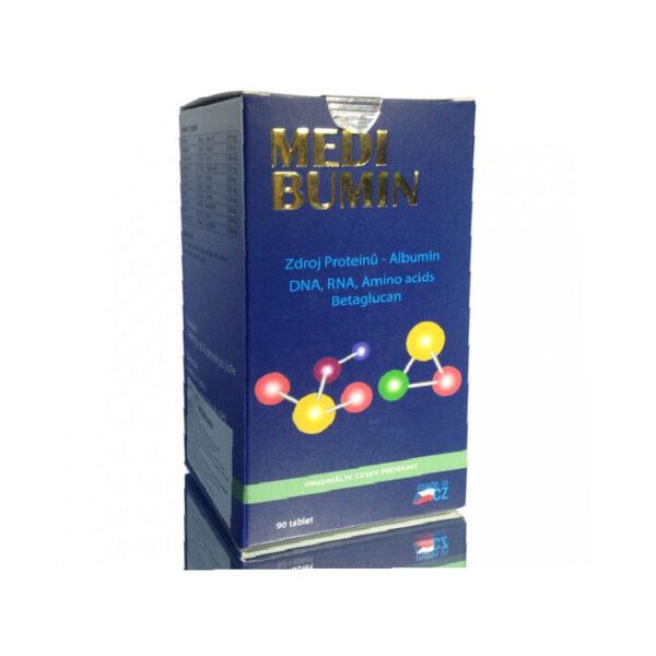 Thực phẩm bảo vệ sức khỏe Medibumin 90 viên - Bổ sung albumin, các acid amin