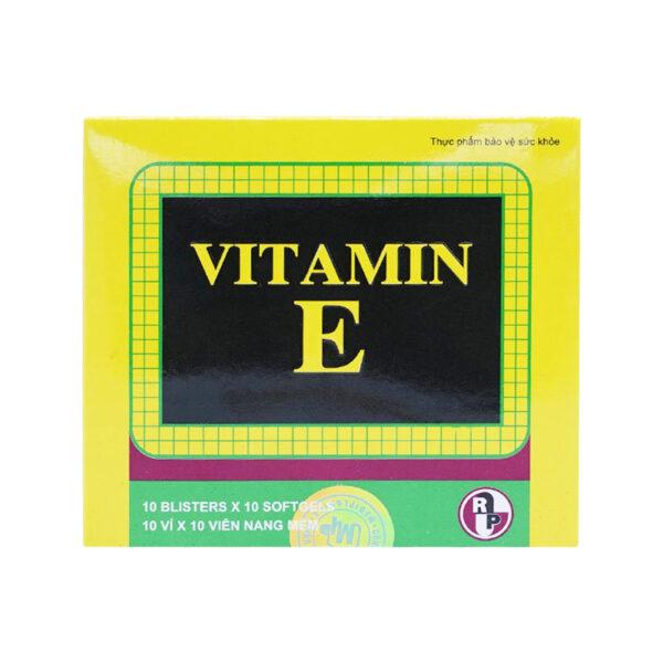 Mediplantex - Vitamin E Hộp 100 viên - Bổ Sung Vitamin E