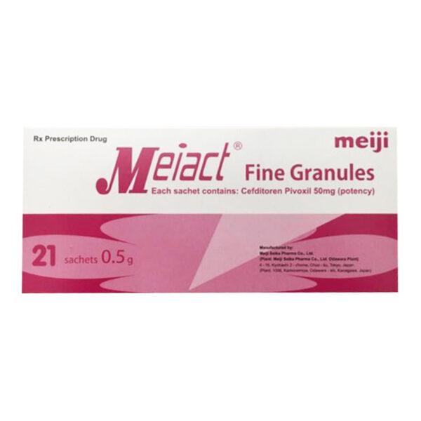 Meiact Fine Franules Hộp 21 Gói - Điều Trị Nhiễm Khuẩn Ở Trẻ