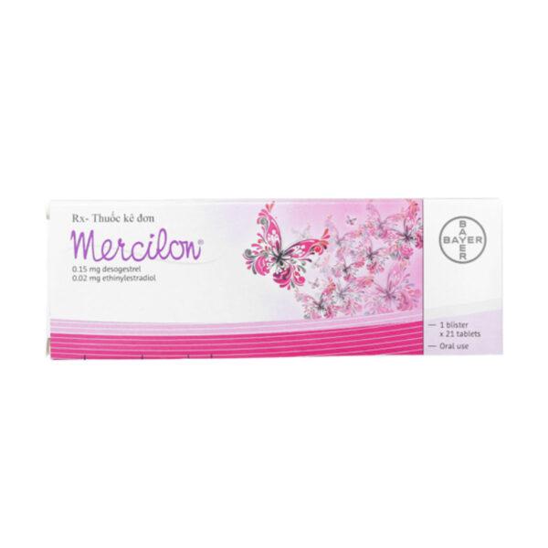 Mercilon Hộp 21 Viên - Thuốc Tránh Thai