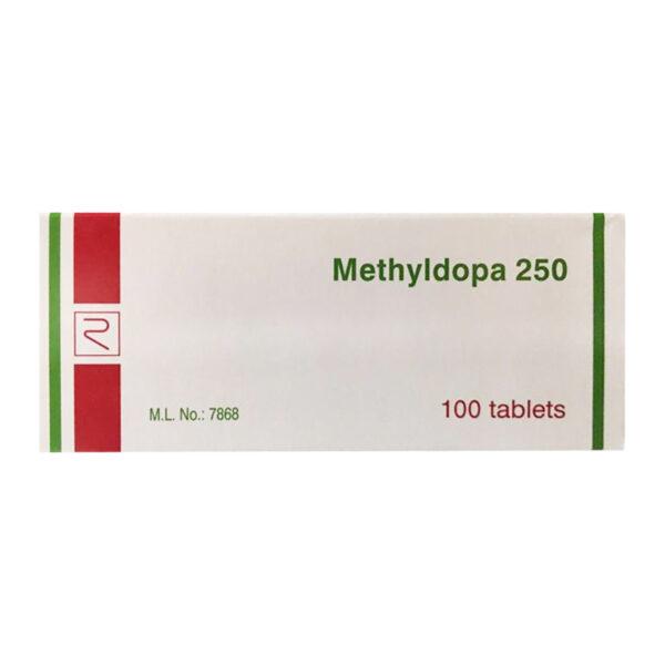 Methyldopa 250 Remedica 100 Viên - Điều Trị Tăng Huyết Áp