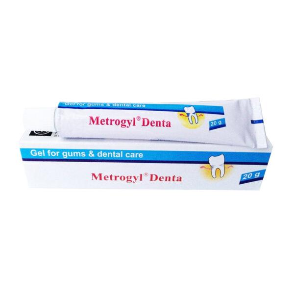 Metrogyl Denta Tuýp 20g - Điều Trị Viêm Nướu Răng
