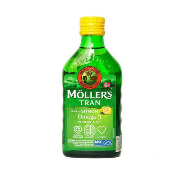 Moller Trans 250ml - dầu gan cá Tuyết - Giúp tăng cường sức