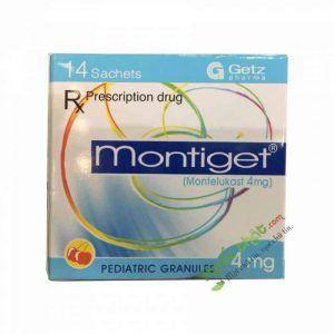 Thuốc Montiget 4Mg - Điều trị hen suyễn mạn tính