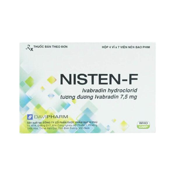 NISTEN - F Hộp 28 Viên - Điều Trị Bệnh Mạch Vành
