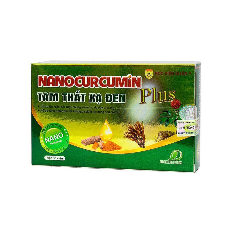 Nanocurcumin tam thất xạ đen PLus
