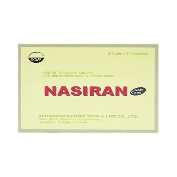 Nasiran Hộp 30 Viên - Tăng Cường Tuần Hoàn Não