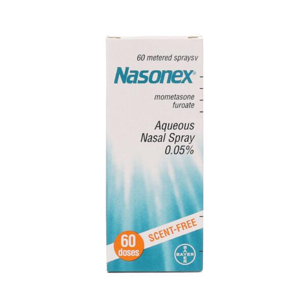Nasonex 0.05% Bình 60 Liều - Trị Viêm Mũi, Xoang Cấp