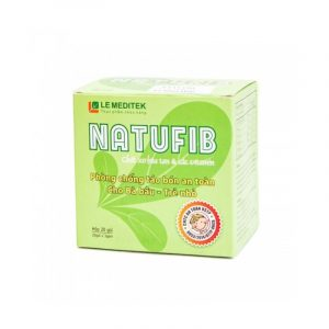 Natufib Hộp 20 gói - Hỗ trợ điều trị táo bón