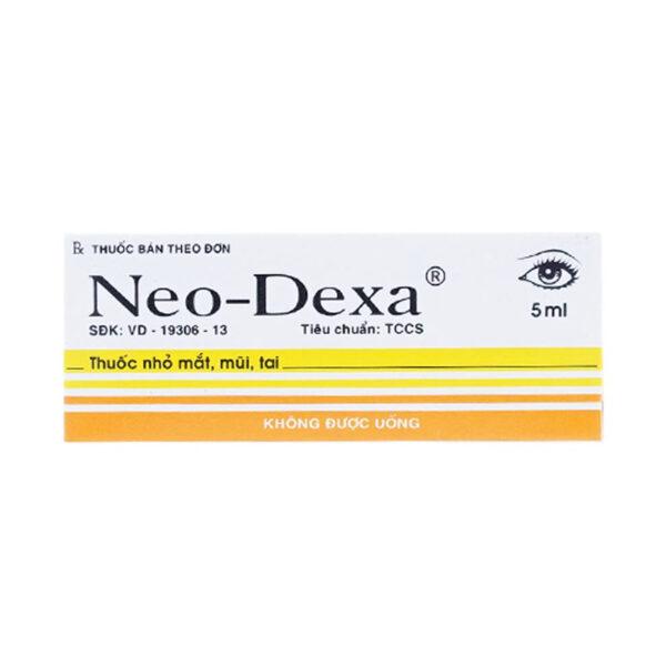 Neo Dexa Lọ 5ml - Điều Trị Viêm Giác Mạc