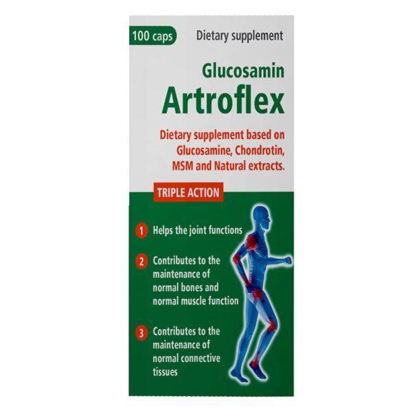 Glucosamin Artroflex Lọ 100 Viên - Tái tạo sụn khớp