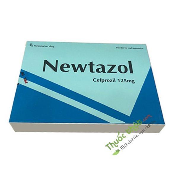 Thuốc Newtazol 125Mg Hộp 10 Gói  - Điều Trị Nhiễm Khuẩn