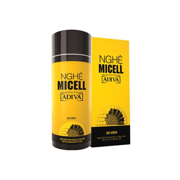 Nghệ Micell 30 viên - Hỗ Trợ Tiêu Hoá