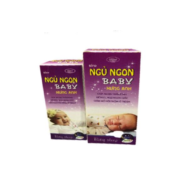 Ngủ Ngon Baby Hưng Anh Lọ 100 ml - An Dịu Thần Kinh