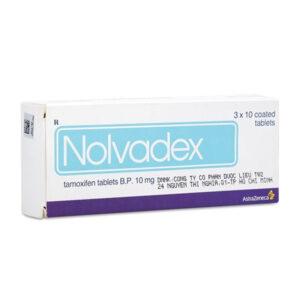 Nolvadex Hộp 30 Viên - Hỗ Trợ Điều Trị Ung Thư Vú