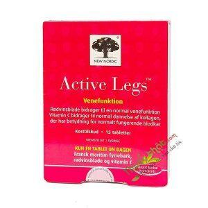 New Nordic Active Legs Hộp 15 Viên -  Điều Trị Giãn Tĩnh Mạch