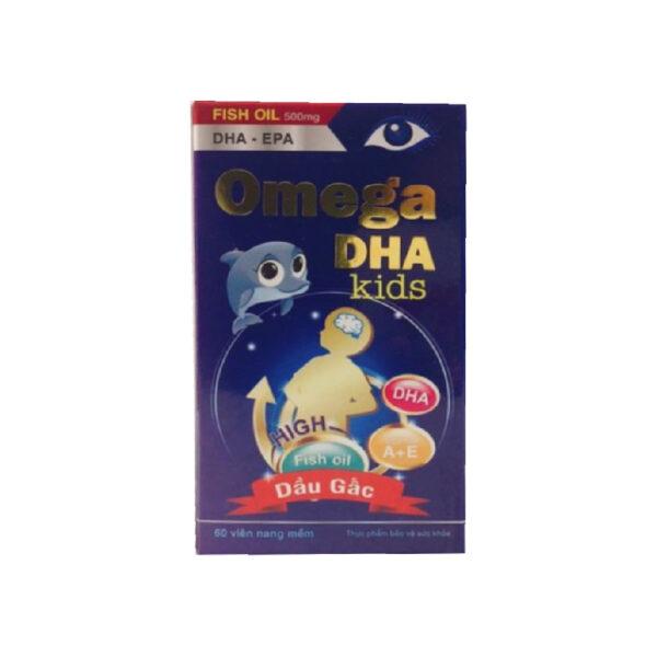 Omega DHA Kids Hộp 60 Viên - Bổ Sung DHA, Vitamin