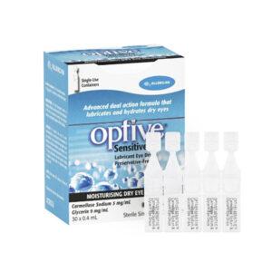 Optive Hộp 30 Ống - Sử Dụng Khi Khô Mắt
