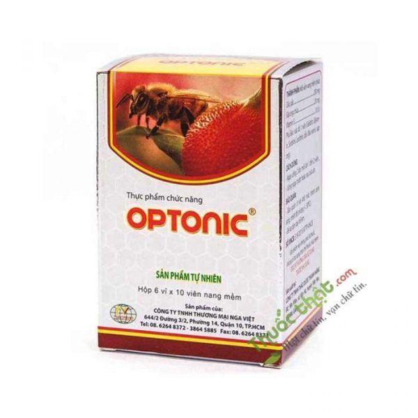 Optonic Hộp 60 Viên - Giúp Đôi Mắt Sáng Khỏe, Làm Đẹp Da