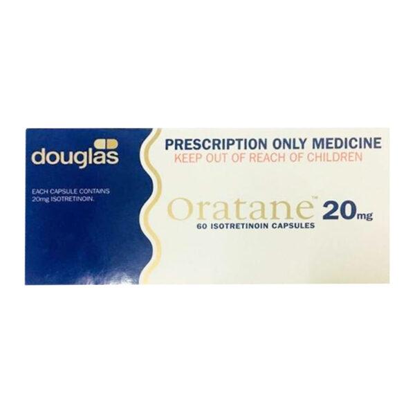 Oratane 20mg Hộp 60 Viên  - Thuốc Điều Trị Mụn Trứng Cá