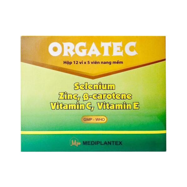 Orgatec Hộp 60 Viên - Bổ Sung Vitamin Và Khoáng Chất