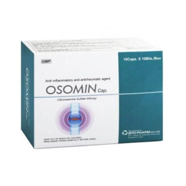 Osomin Hộp 100 Viên - Điều Trị Bệnh Gout