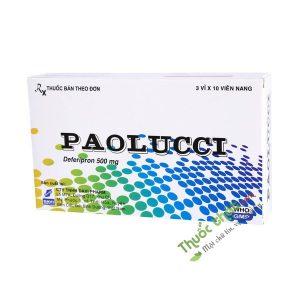 Paolucci 500mg - Điều trị tình trạng dư thừa sắt