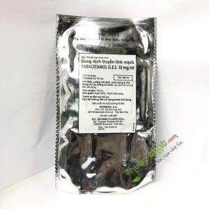 Thuốc Paracetamol G.E.S 10mg/ml - Điều Trị Đau Vừa Và Nhẹ, Hạ Sốt