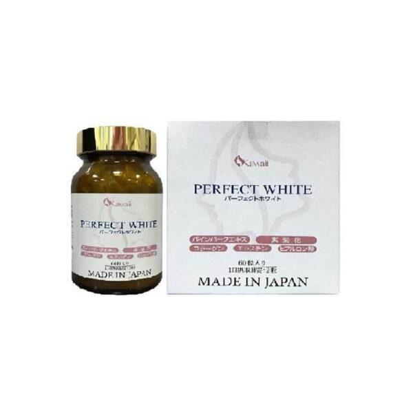 Perfect White Jpanwell 60 Viên -Viên Uống Làm Đẹp Da