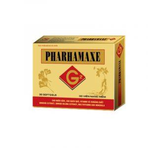 Pharhamaxe Hộp 30 viên - Bổ não, tăng cường tuần hoàn não