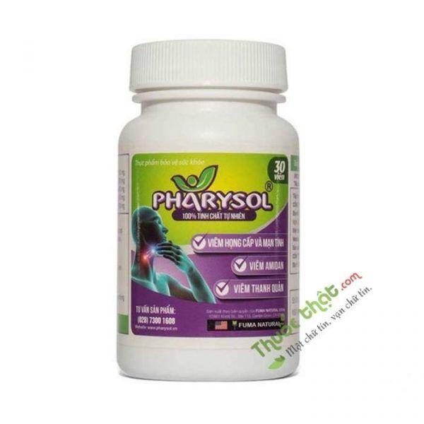Pharysol  Lọ 30 viên - Điều Trị Ho Đàm, Ho Khan