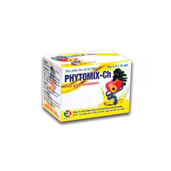 Phytomix-Ch 60 Viên - Viên Uống Giúp Giảm Cholesterol