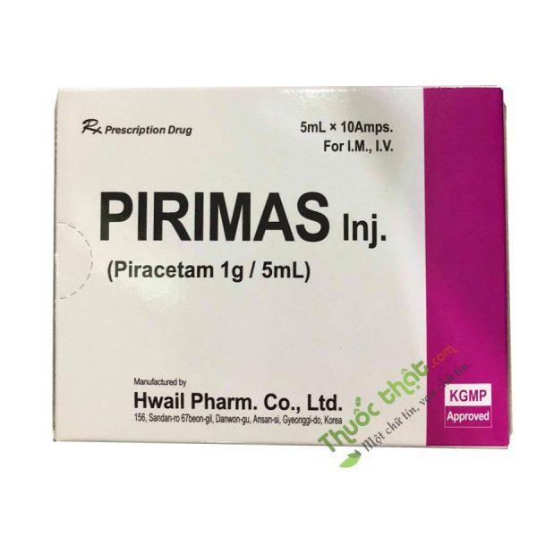 Thuốc Pirimas 1g/5ml Hộp 10 Ống - Thuốc Bổ Thần Kinh