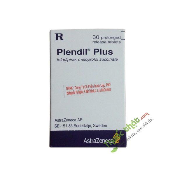 Plendil Plus Hộp 30 Viên - Thuốc  Điều Trị Tăng Huyết Áp