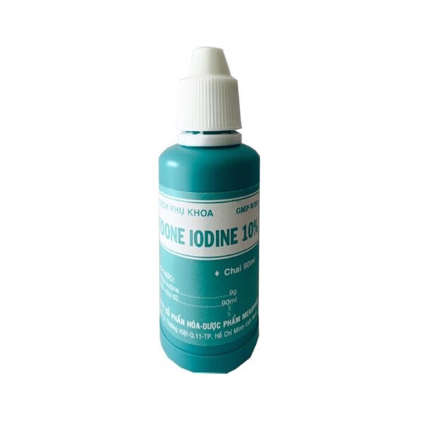 Povidone Lodine 10% Chai 90ml - Dung Dịch Phụ Khoa