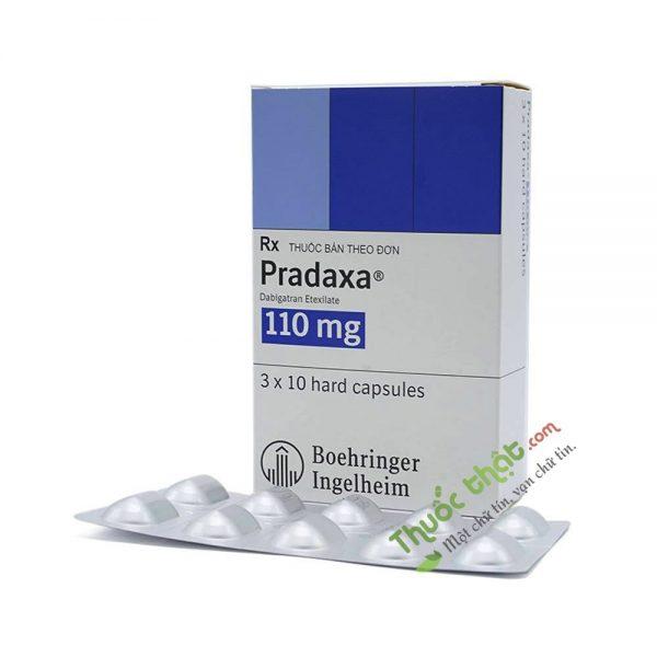 Thuốc Pradaxa 110mg Hộp 30 Viên - Phòng Ngừa Đột Quỵ