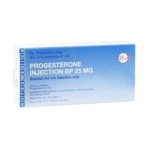 Progesterone Injection Hộp 10 Ống - Trị Thiếu Progesterone