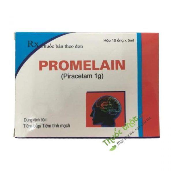 Promelain Hộp 10 Ống - Điều Trị Di Chứng Thiếu Máu Não