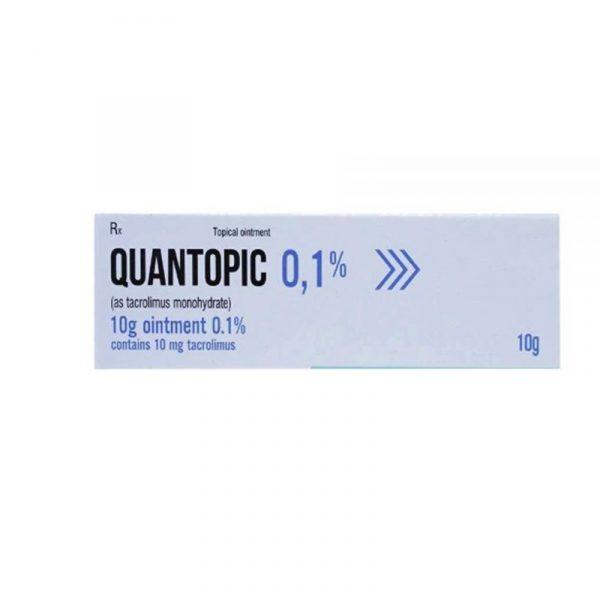 Quantopic 0.1% Tuýp 10g - Thuốc điều trị chàm thể tạng