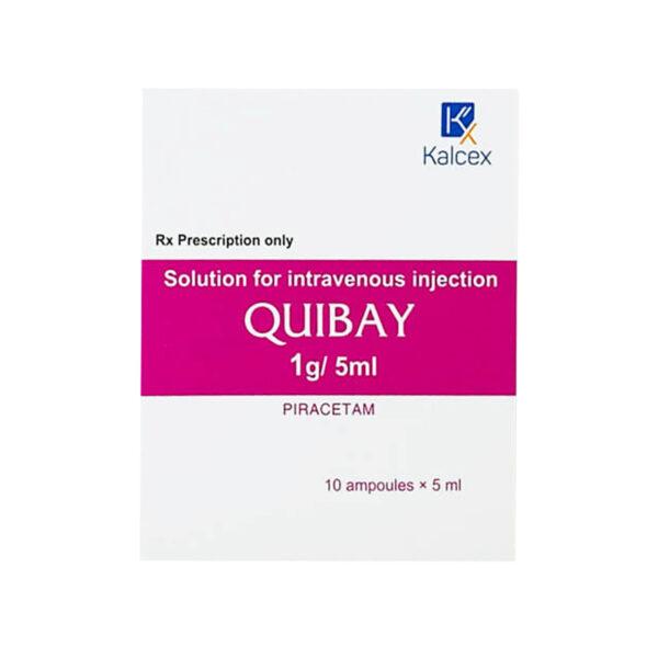 Quibay 1g/5ml Hộp 10 Ống - Trị Di Chứng Thiếu Máu Não
