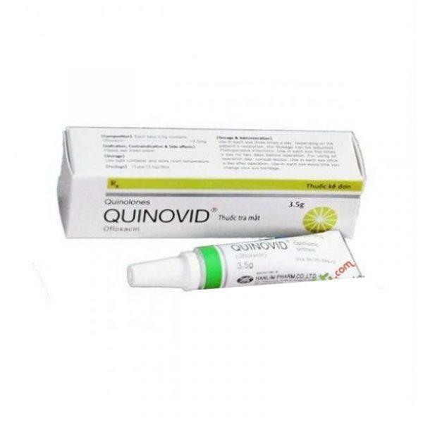 Quinovid 3.5g - Thuốc Tra Mắt