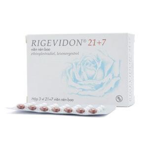 Rigevidon 21 +7 Hộp 28 Viên - Thuốc Tránh Thai